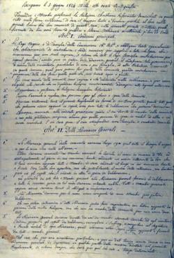 Regolamento del 1824: pag. 1