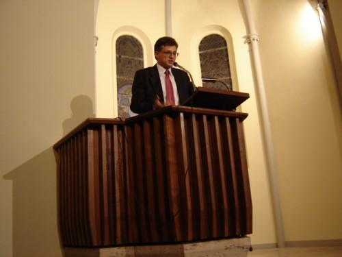 L'introduzione del dott. Marcello Eynard