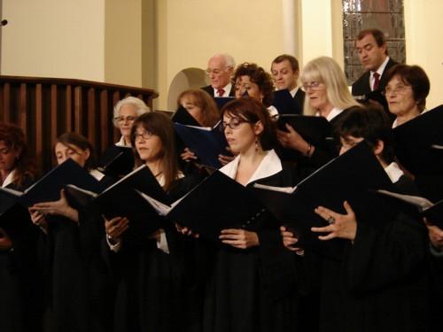 Il coro (particolare)