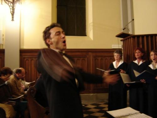 Il maestro Flavio Gatti