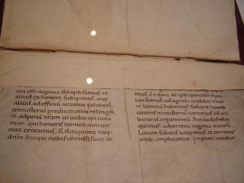 Opera di Flavio Biondo (1484), dono di G. Zavaritt