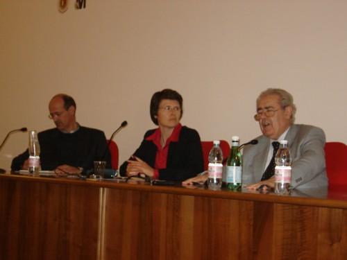 Paolo Ricca e Maurizio Gervasoni
